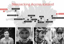 913 km, Emily Batty, Islandia, Bikepaking, Chris Burkard, 11 días, Autosuficiencia, 4 ciclistas