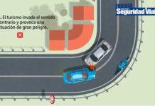 El vídeo de la Guardia Civil que te explica como debes adelantar a los ciclistas en la carretera