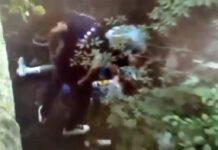 Esto fue lo que Davide Bramati sacó del maillot de Remco Evenepoel cuando estaba siendo atendido