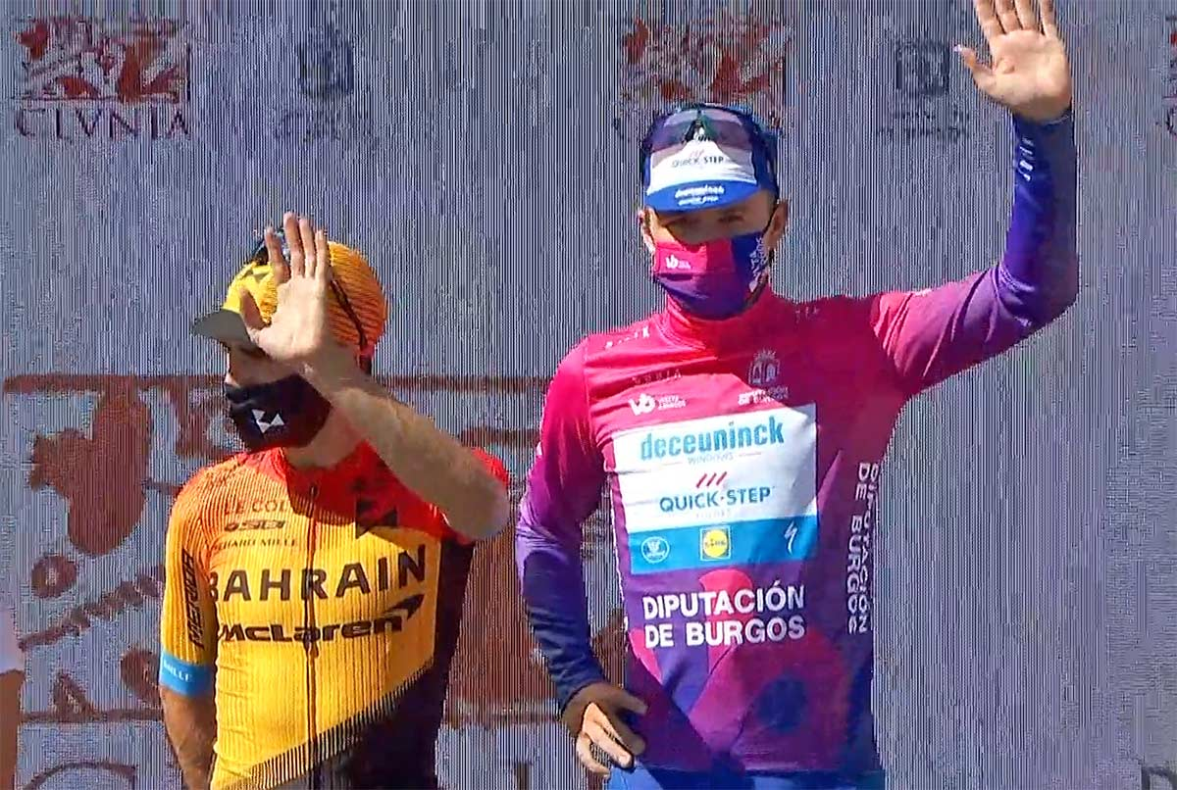 Evenepoel se lleva la XLII Vuelta Ciclista a Burgos