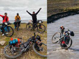Gominolas desde el cielo, pies de hielo, sed... 4 días para completar los 915 km de bikepacking cruzando Islandia
