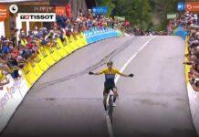 Primoz Roglic se pone líder en el Critérium Dauphine