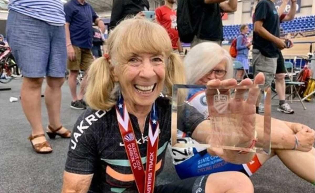 Un año de sanción por dopaje a una ciclista de 80 años de edad