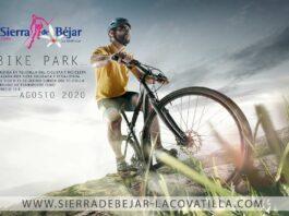 ¿Una bicicleta de paseo para anunciar el Bike Park de Bejar-La Covatilla? Only in Spain...