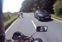 Vídeo: Como un motorista adelanta correctamente a un grupo de ciclistas