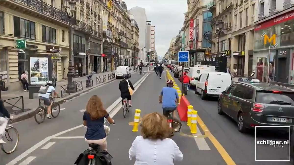Vídeo: Increíble como lucen las calles de París estos días. ¿Ves alguna diferencia con las de Madrid o Barcelona?