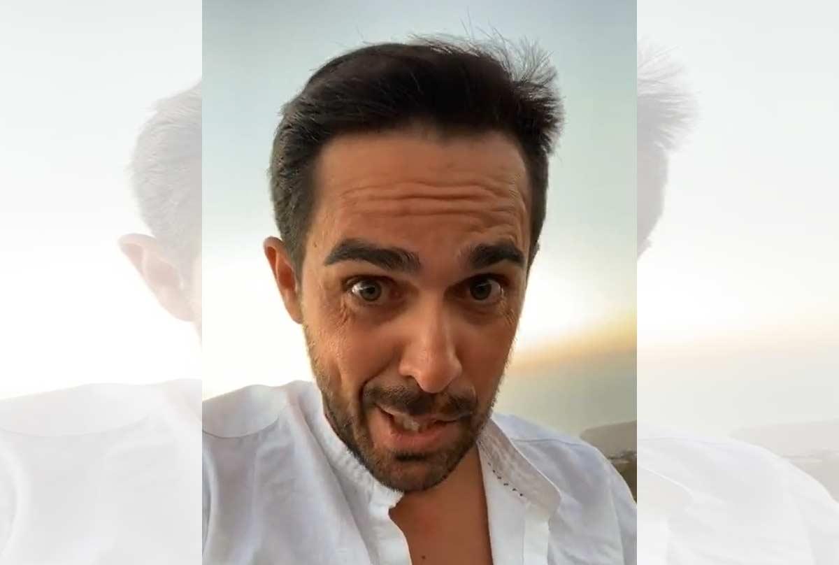 Vídeo: La batallita de Alberto Contador preparando el Tour en el Teide