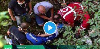 Vídeos: La caída de Remco Evenepoel y su fractura de pelvis