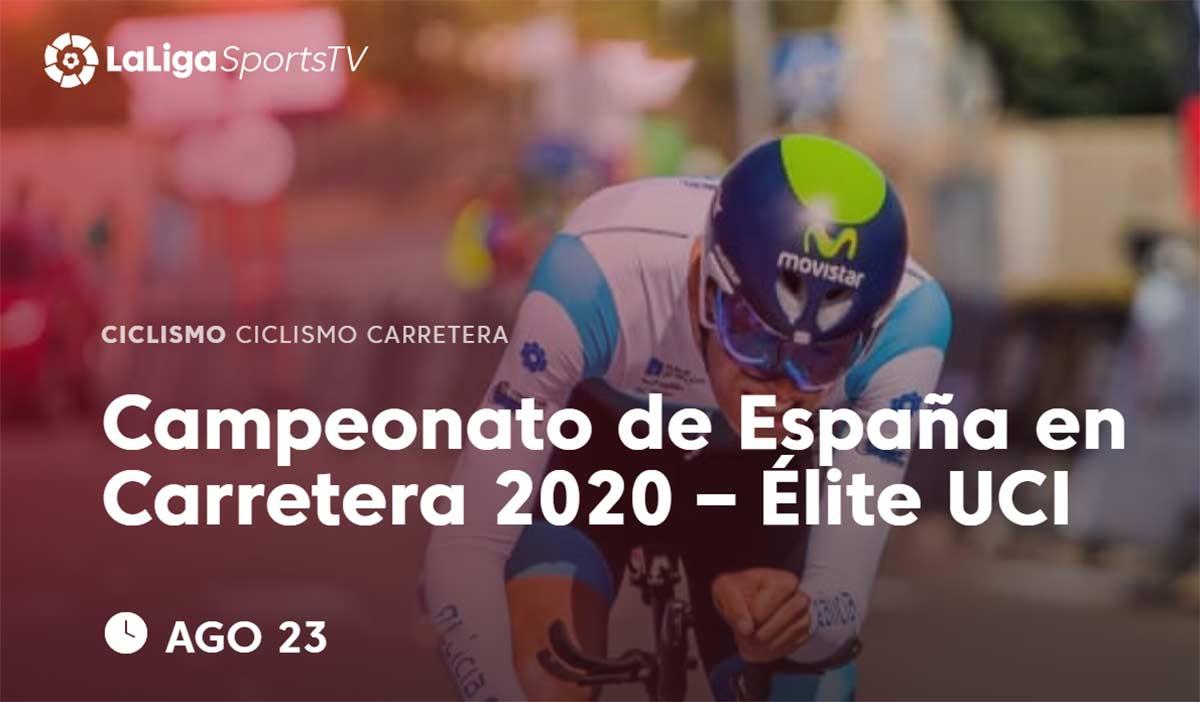 Ver en directo el Campeonato de España de Ciclismo de carretera