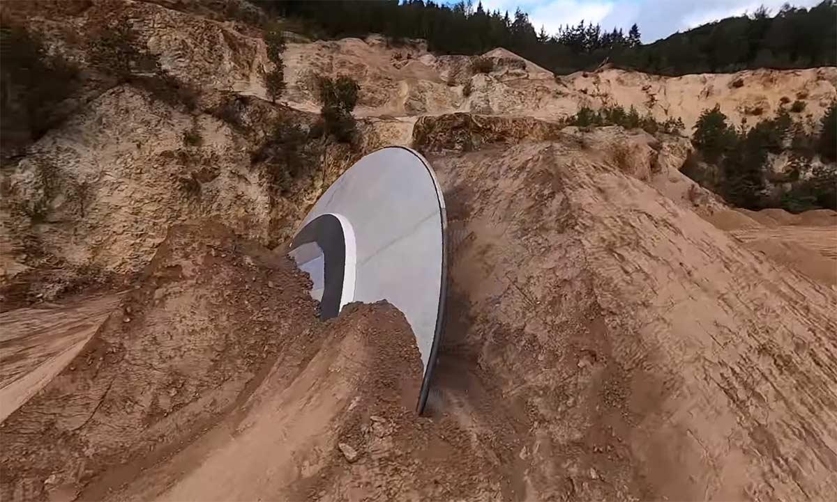 Vídeo: Audi Nines 2020. Un platillo volante en medio de los inmensos saltos de freeride