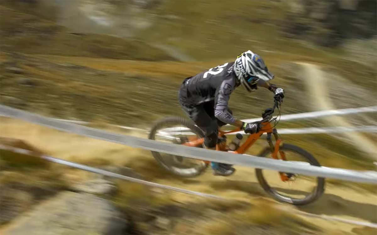 Vídeo: Edgar Carballo 5º en las EWS-E de Zermatt en bicicleta eléctrica