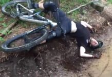 ¿Cuántas de estas brutales caídas en bicicleta se podrían haber evitado?