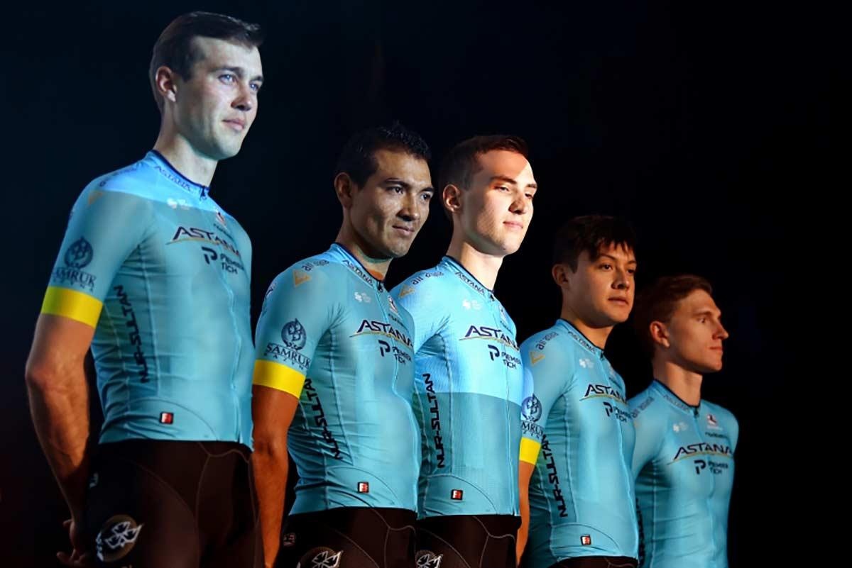 Dos ciclistas del Astana fuera del Giro de Italia por el Covid-19