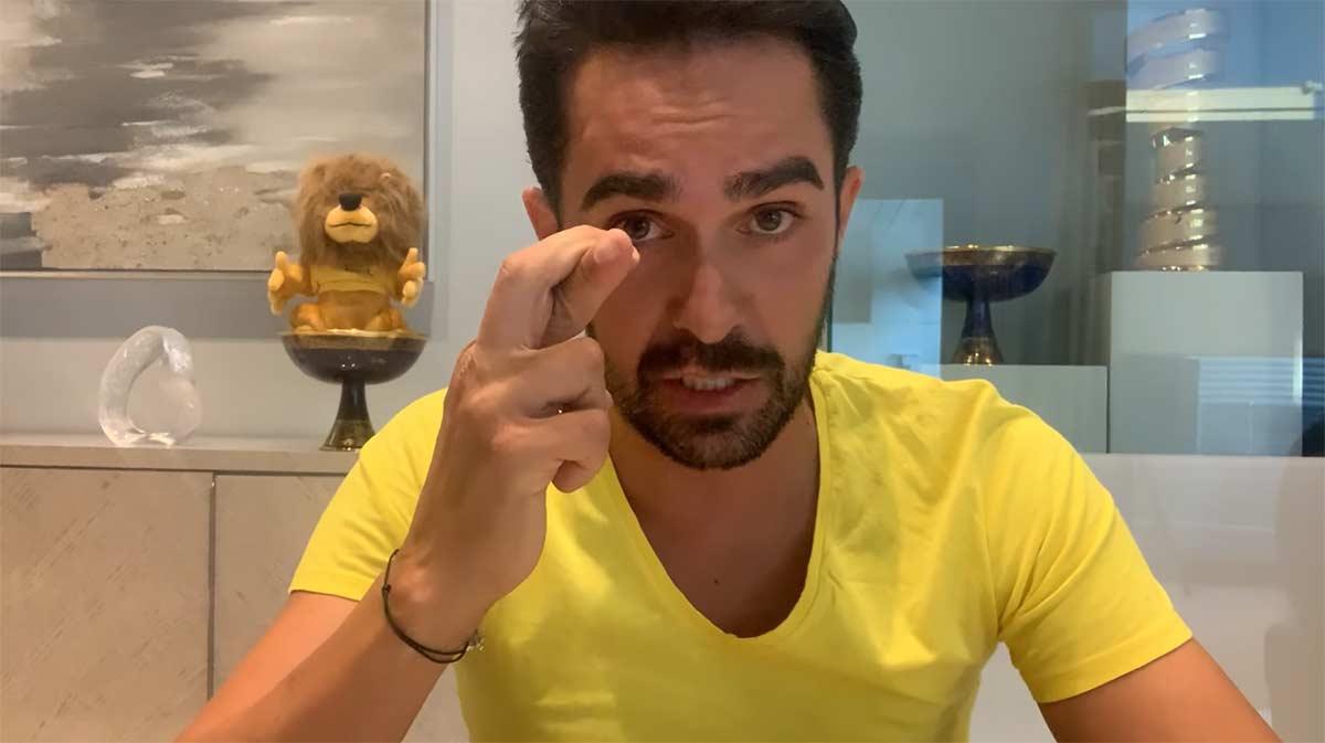 El Youtuber Alberto Contador: