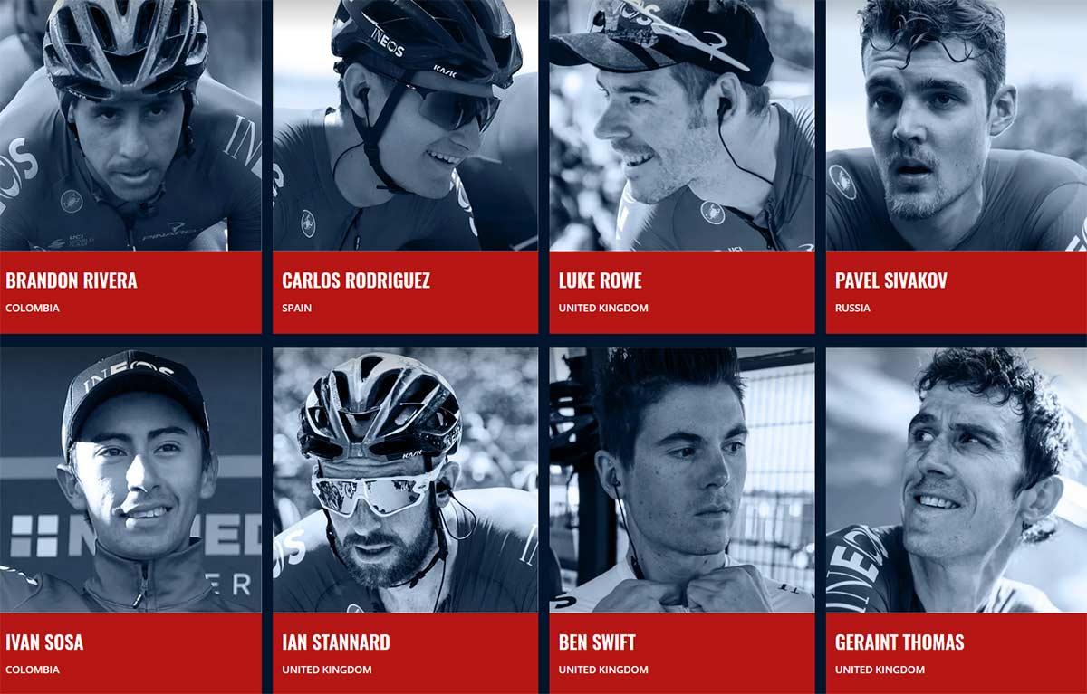 Ningún colombiano en el Team Ineos Grenadiers de cara al Giro de Italia