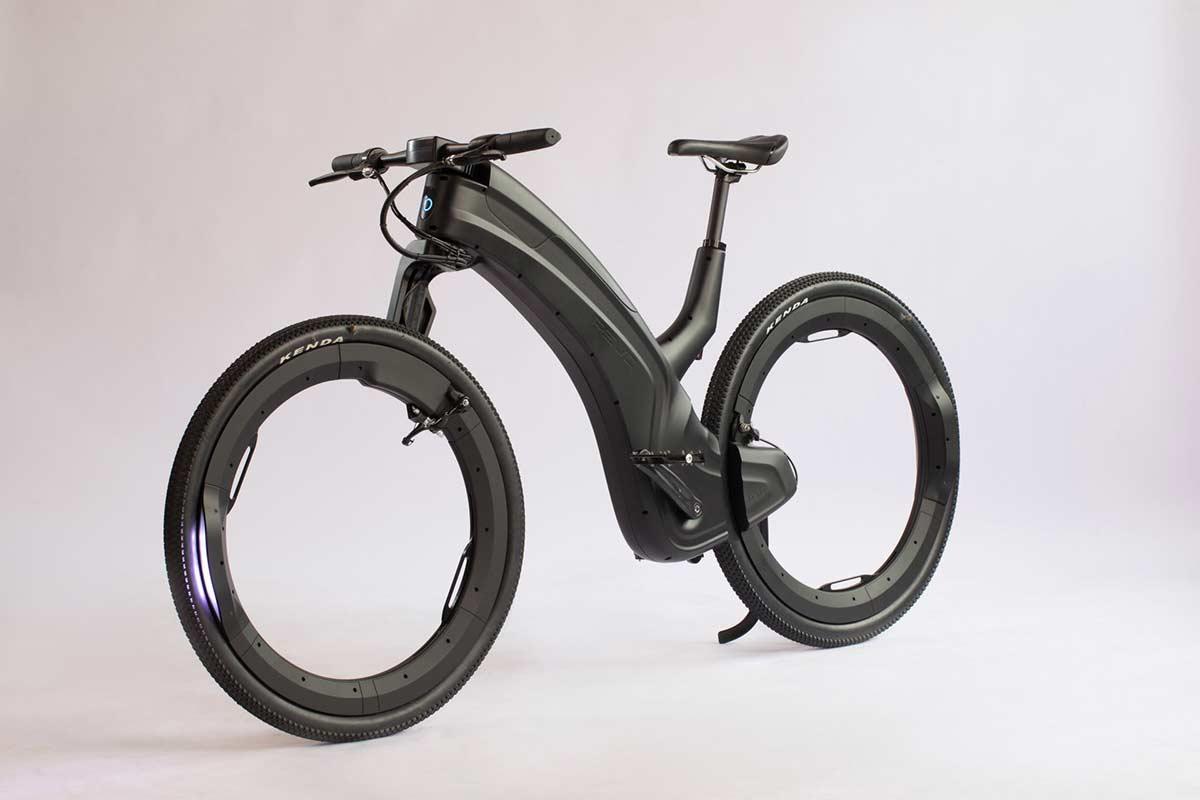Reevo, una bicicleta eléctrica sin bujes ni radios