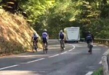 Vídeo: Así consiguió subir el Tourmalet en bici y marcha atrás Rubén Gorospe