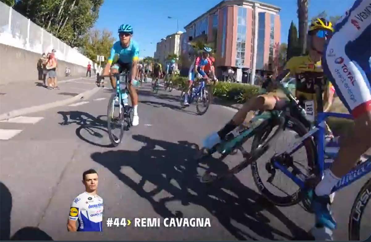 Vídeo: La quinta etapa del Tour 2020 desde dentro