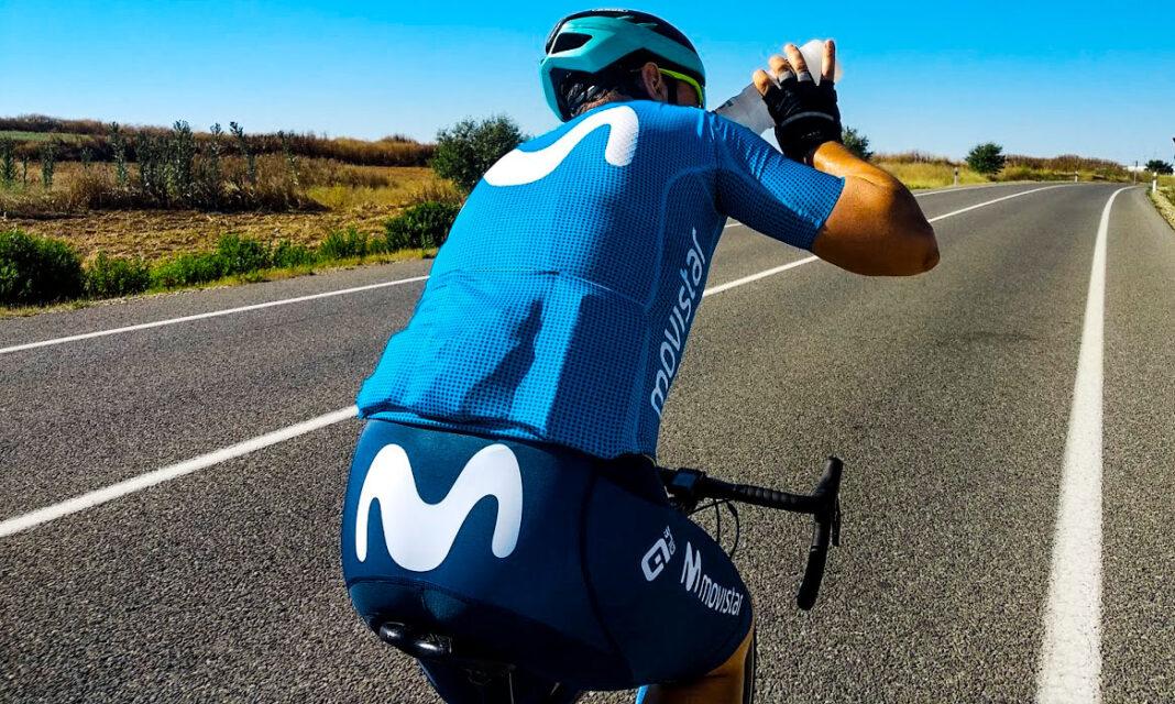 equipación ciclista movistar team ALE