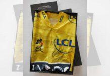 subasta-maillot-amarillo-egan-bernal-tour-de-francia-firma-autografo-team-ineos