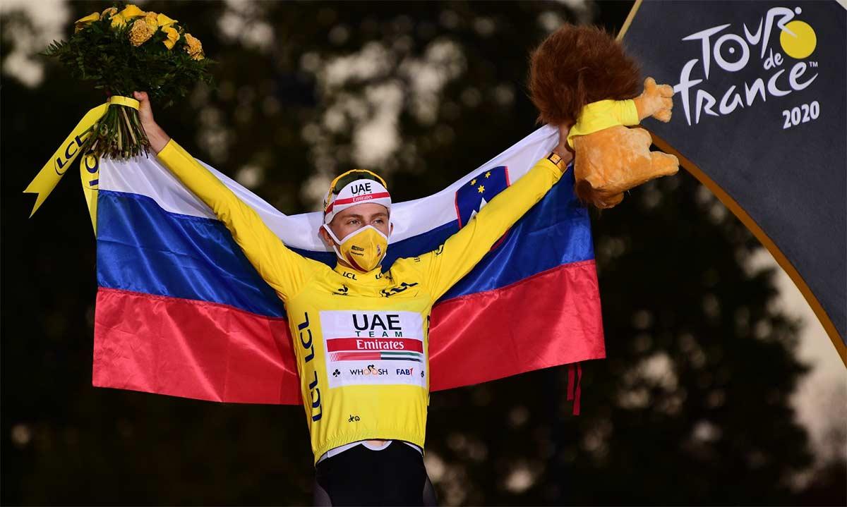 tadej-pogacar-podium-tour-de-francia-2020-paris-primoz-roglic-mundial-imola-eslovenos