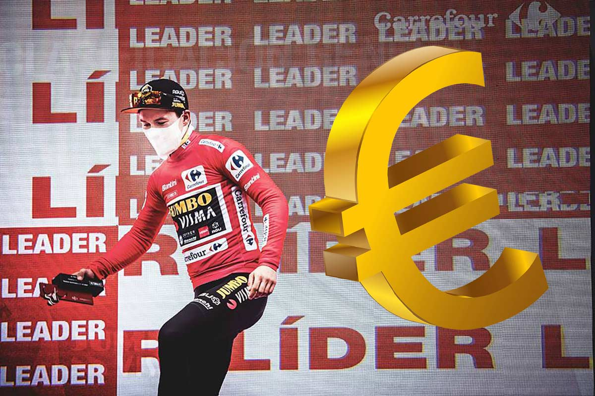 1 millón de euros. Así son los premios de La Vuelta Ciclista a España