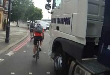Este ciclista ha sido atropellado tres veces este año y ningún conductor paró