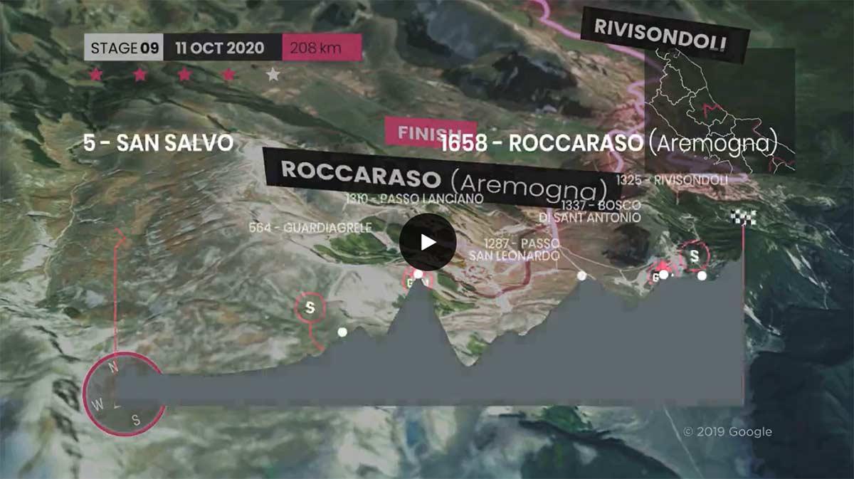 Hoy, dos puertos de 1ª, dos de segunda, frío, viento y lluvia en el Giro de Italia