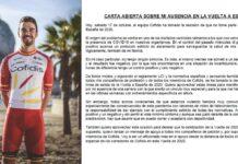 """Primer """"negativo"""" en la Vuelta Ciclista a España, y antes de que comience..."""