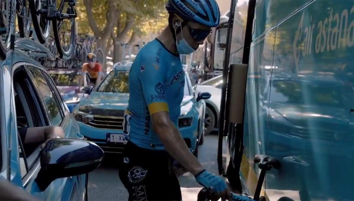 Superman López operado tras su espeluznante caída en el Giro de Italia