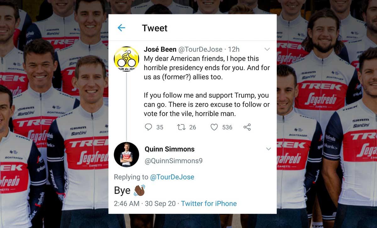uspendido-un-ciclista-del-Trek-Segafredo-por-publicar-un-emoji-racista