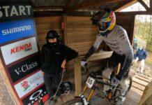 Un-descenso-en-bicicleta-muy-loco-Vídeos-onboard-de-Lousa-DH-World-Cup-2020 gee atherton