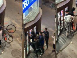 Vídeo: Así asaltan una tienda Decathlon en Barcelona para robar varias bicicletas