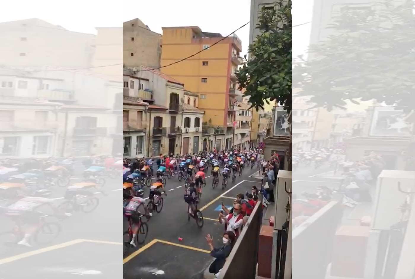 Vídeo: Así ha sido la caída de Geraint Thomas en el Giro de Italia