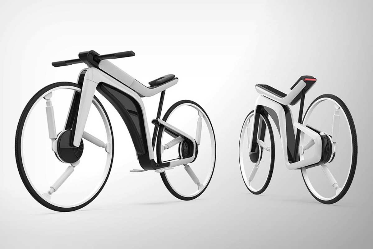 Bicicletas-electricas-Tesla.-Inteligentes-un-motor-en-cada-rueda-y-sin-pedales