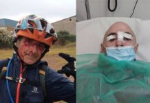 En el hospital tras encontrarse un alambre de espino atado de lado a ladeo de un sendero en Torrelles de Llobregat