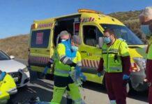 Fallece un ciclista tras colisionar con una furgoneta en Madrid