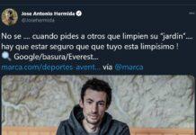 Hermida critica a Kilian Jornet por su queja de los ciclistas que tiran envoltorios en competición