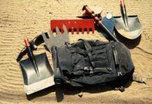 Herramientas con palo telescópico de carbono para crear y arreglar senderos Grip N RIP