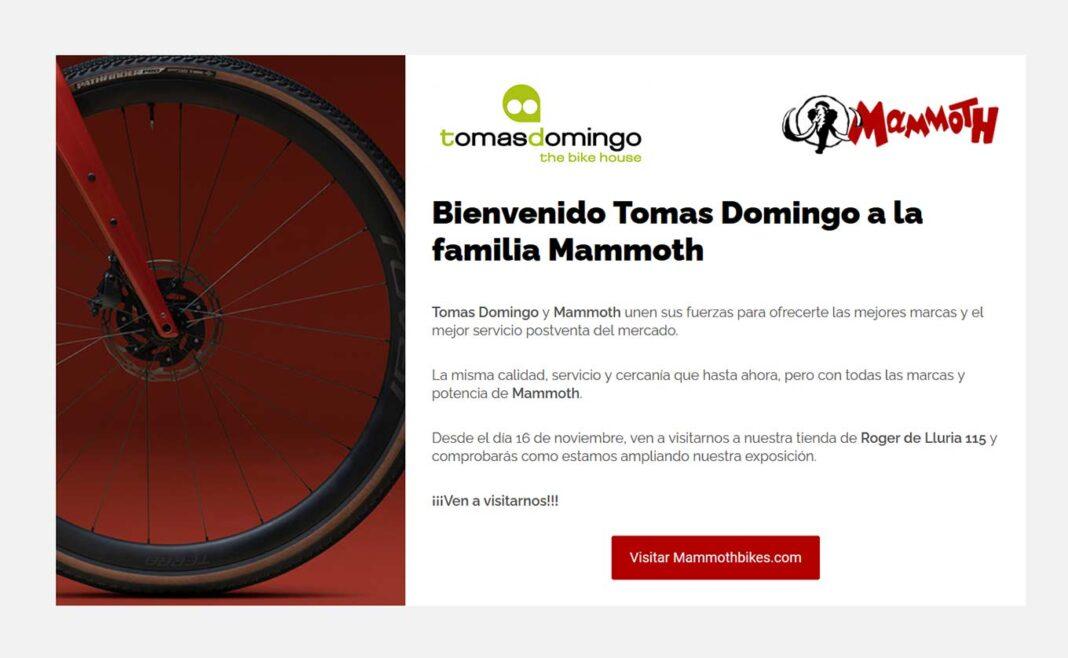 La tienda de bicicletas Tomás Domingo es engullida por Barrabes tras 50 años de historia