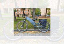 Multado por utilizar una bicicleta eléctrica casera que corría como una moto