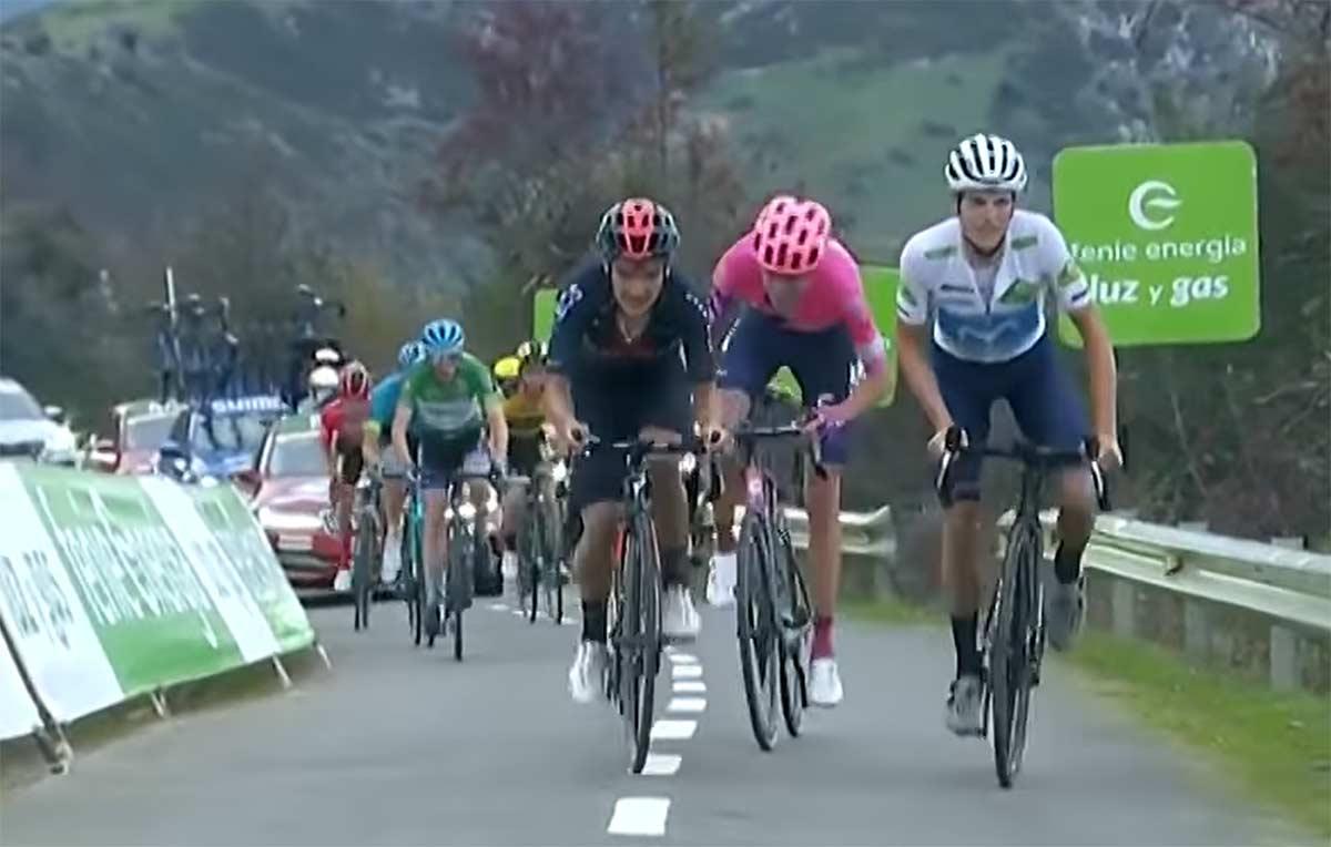 ¿Porqué pide perdón a la afición española Enric Mas tras subir el Angliru en la Vuelta Ciclista?