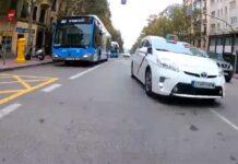 Video-Como-te-ha-pasado-el-hijoputa-taxista-madrileno-adelante-indebidamente-ciclista-madrid