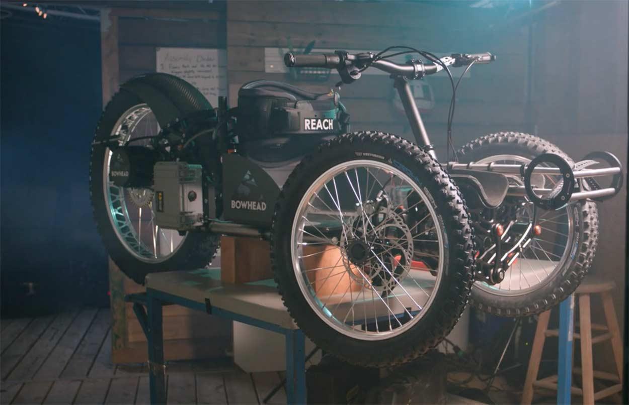 Vídeo: De quedar parapléjico a diseñar su propia bicicleta eléctrica adaptada