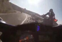 Video-Impactante-accidente-entre-un-ciclista-y-un-grupo-de-motoristas-en-Alicante