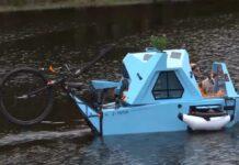 Video-Z-Triton-una-bicicleta-electrica-camper-con-paneles-solares-que-tambien-puede-ir-por-el-agua-como-un-barco