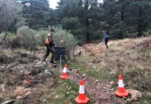 ¡Vergonzoso-Controles-a-los-ciclistas-de-montana-en-Madrid