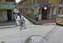 15 personas asaltan a un repartidor para robarle la bicicleta - Ciclista en Bogotá, Google Maps.