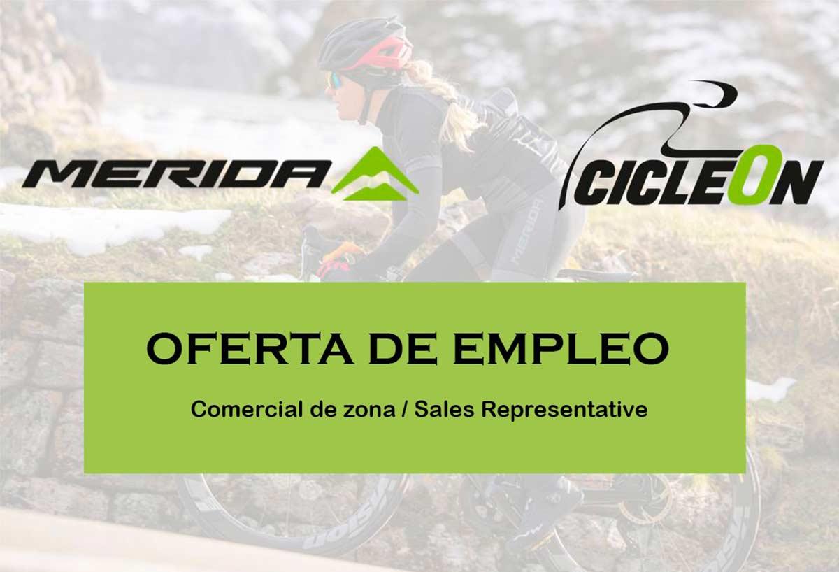 Oferta Empleo: Mérida Bikes busca comerciales de ciclismo para trabajar en España
