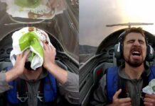 ¿Qué hace Peter Sagan con una bolsa de supermercado en la cabeza?